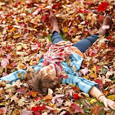laying in the leaves 2