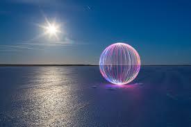 ball on desert