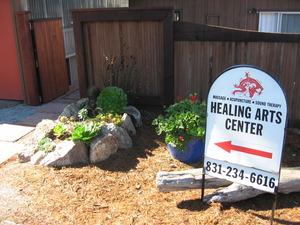 213 healing arts sign